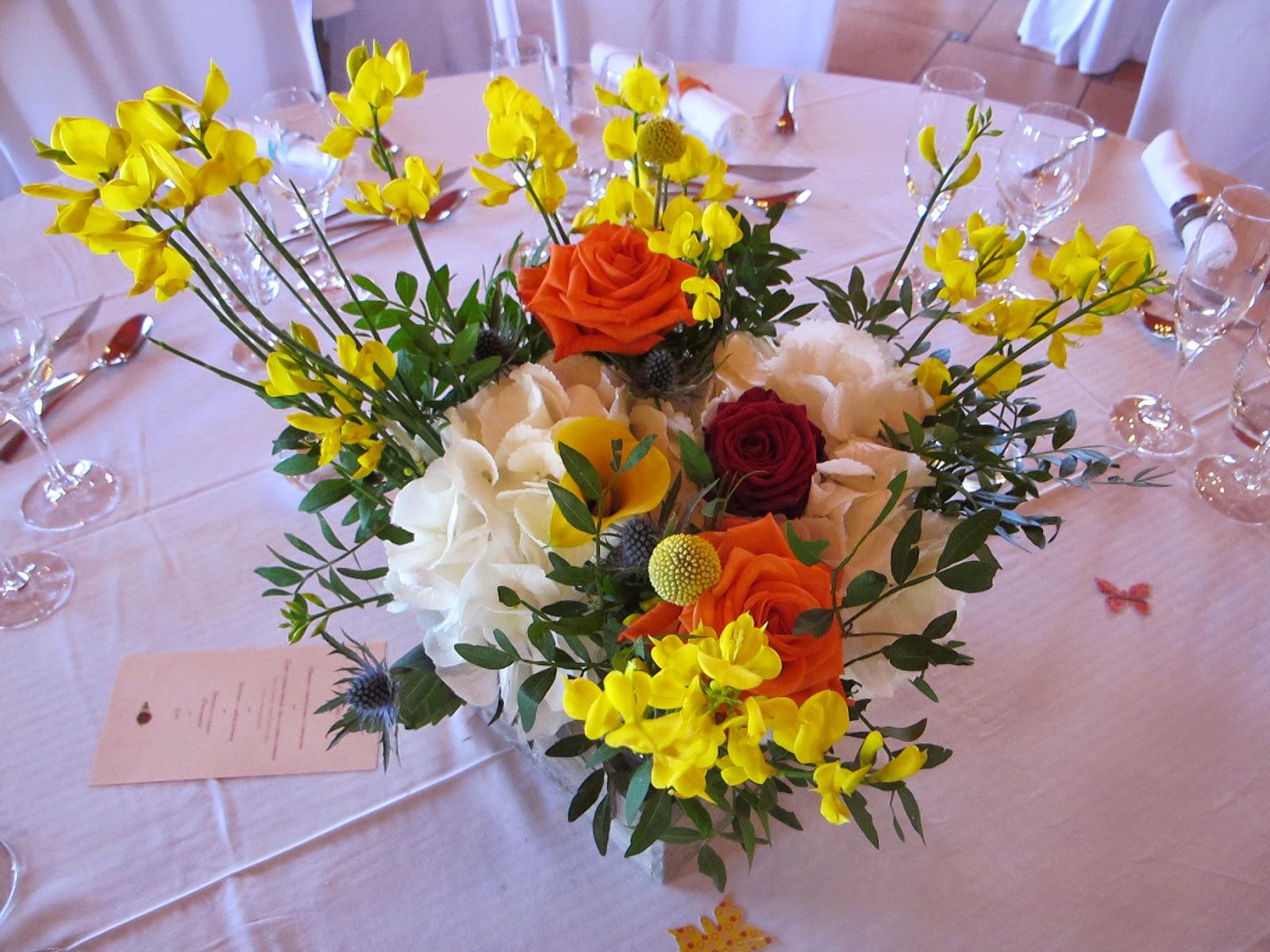 la fleureuse blog mariage bouquets de table. Black Bedroom Furniture Sets. Home Design Ideas