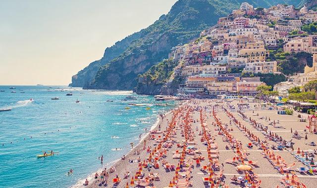 Praias em Positano