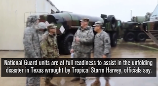 Pentagon says up to 30,000 National Guard troops prepared to assist in response to Harvey