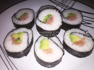 Sushi casero (Makizushi) - Receta paso a paso