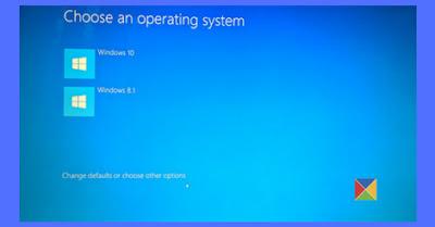 Cara Menghilangkan (Choose an Operating System to Start)