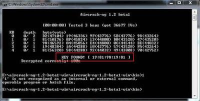 Cara Hack Wifi WEP