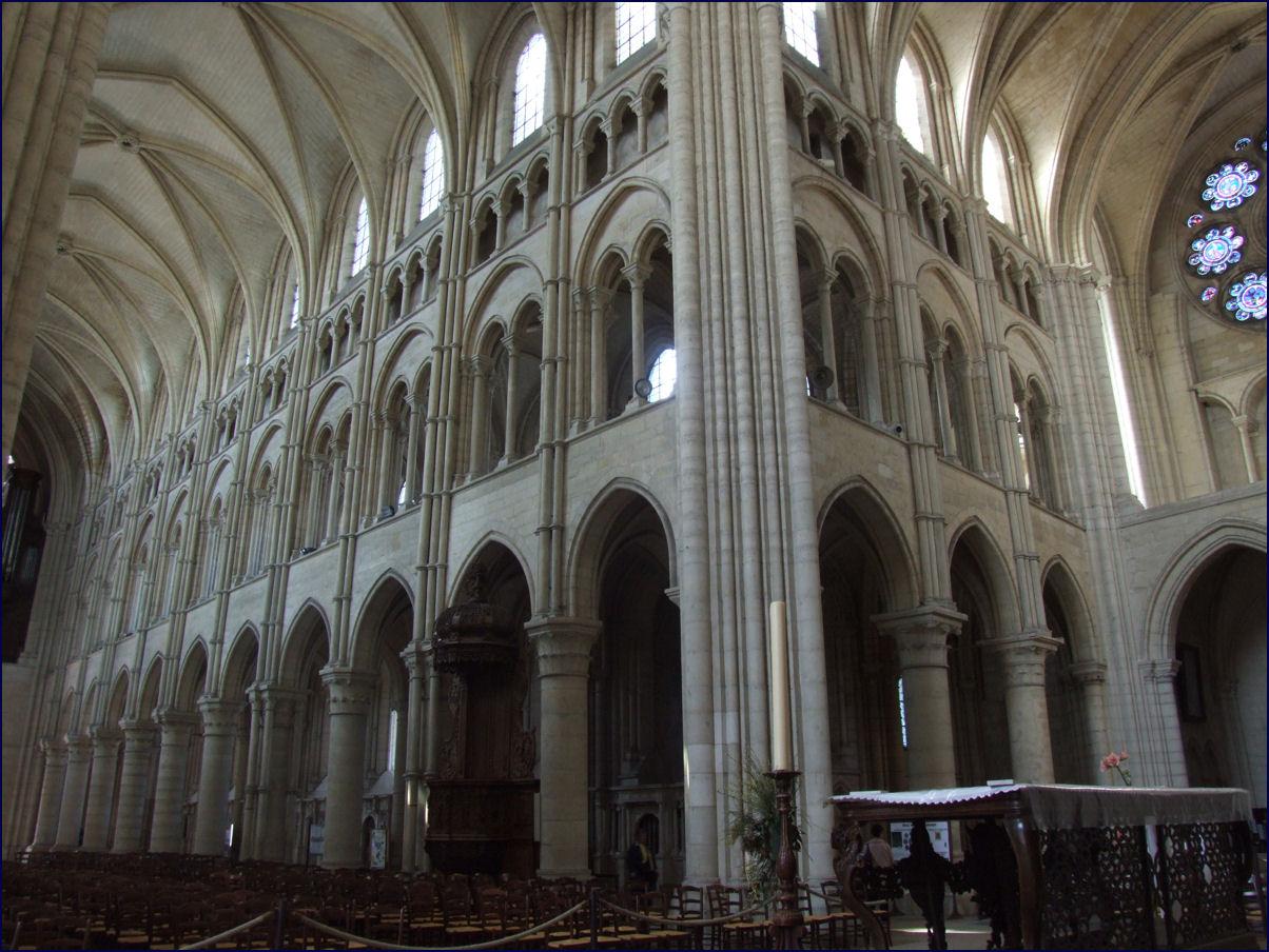 Todo arte arquitectura g tica francesa for Arquitectura gotica partes