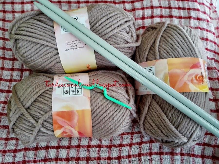 tardesconalma.blogspot.com tutorial DIY bufanda Octo foto3