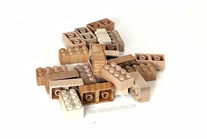 mokulock wooden building bricks, a natural alternative to lego