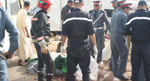 مصرع سيدتين كانتا في طريقهما إلى أكادير في حادث مأساوي