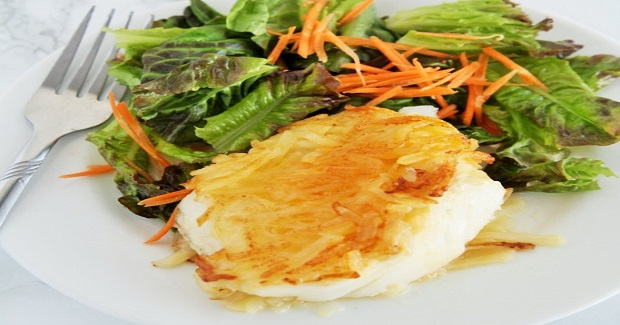 Potato Crusted Cod Recipe