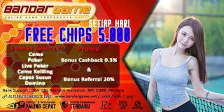 Situs Agen Judi Ceme Keliling Dengan Free Chips