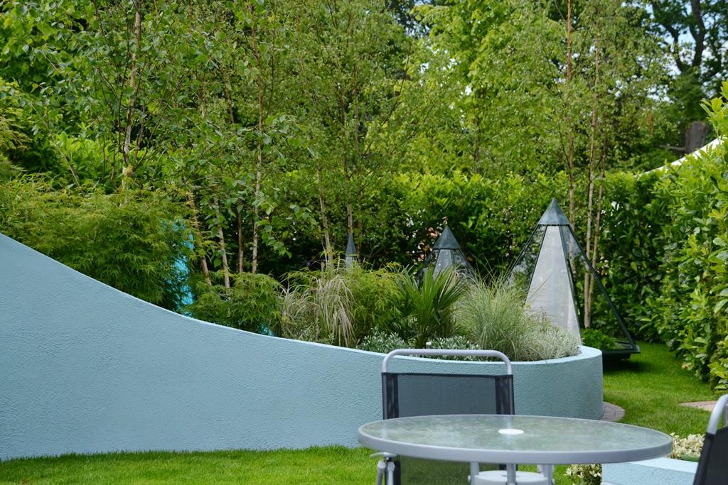 ogród nowoczesny w Irlandii