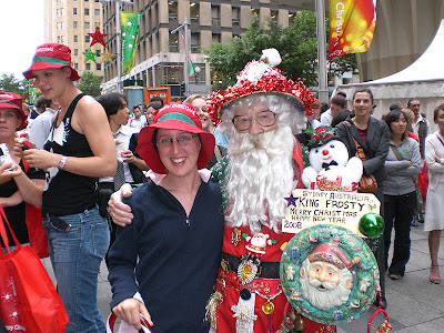 Experiencing the build up to Christmas in Australia