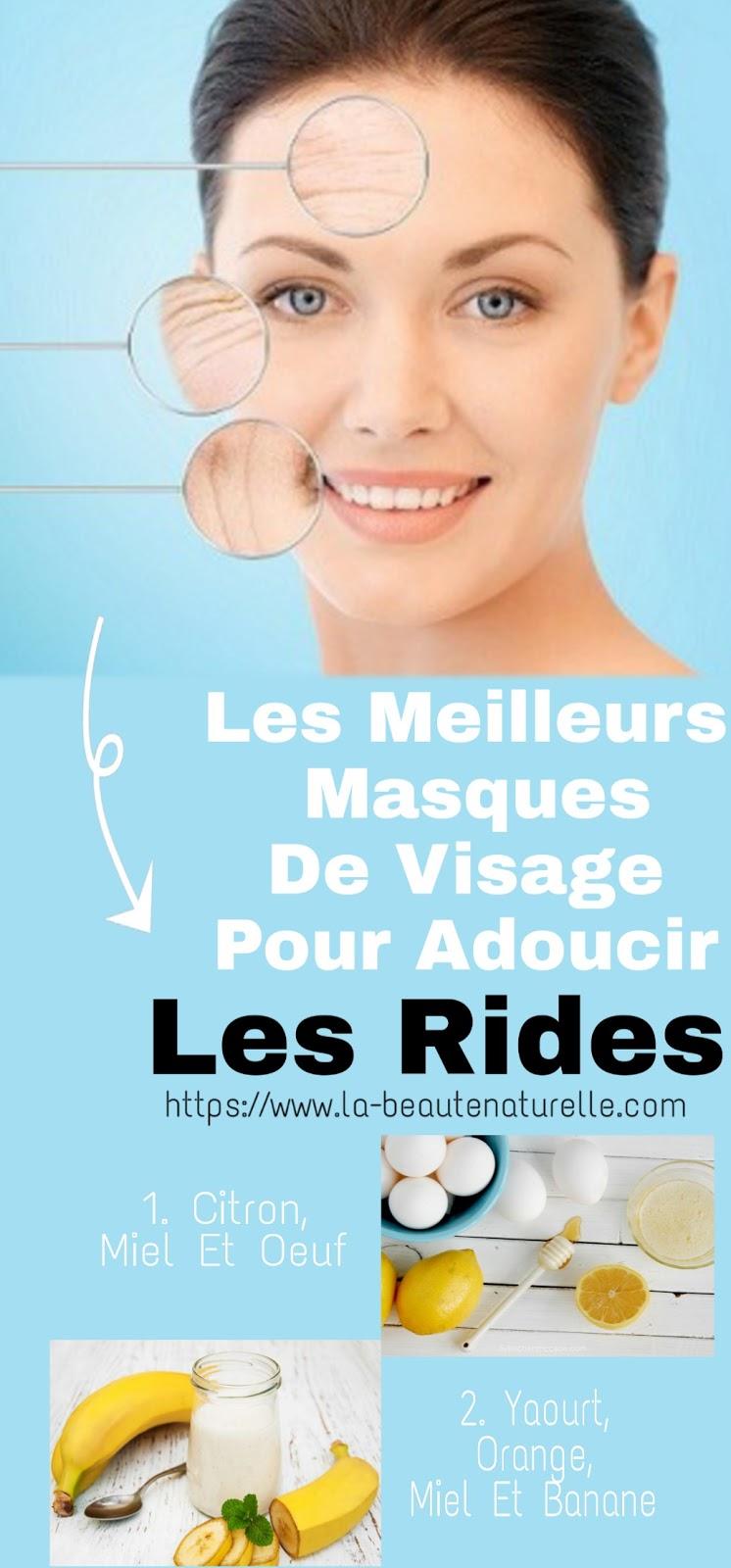 Les Meilleurs Masques De Visage Pour Adoucir Les Rides