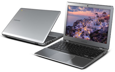 Google's and Samsung's Series 5 550 ChromeBook