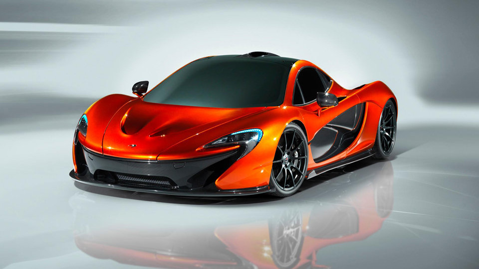 Mclaren P1 Hybrid Supercar Revealed Before Paris Show