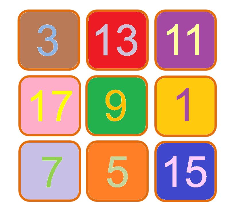 median Don Steward Magic Squares: finding patterns - swaps