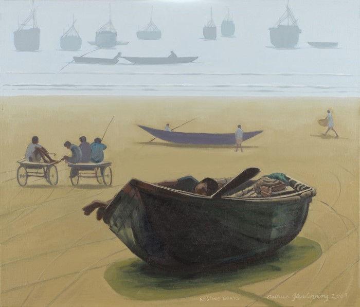 Британский художник. Arthur Glendinning