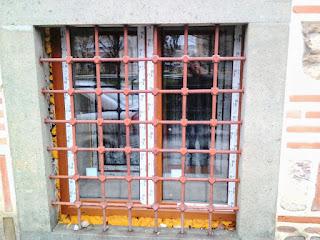 Barred Window, Turkish Mosque, Yambol,