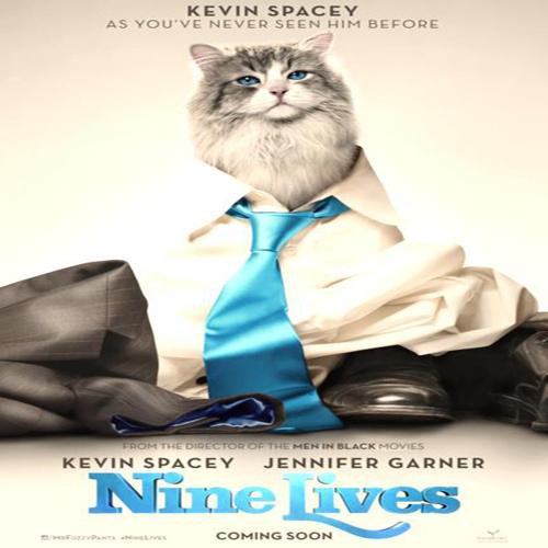 Nine Lives Poster Film
