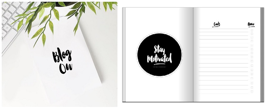 Agendas Planners and Diaries for 2016, Bloggers Planner, personalised planners, The Style Guide Blog