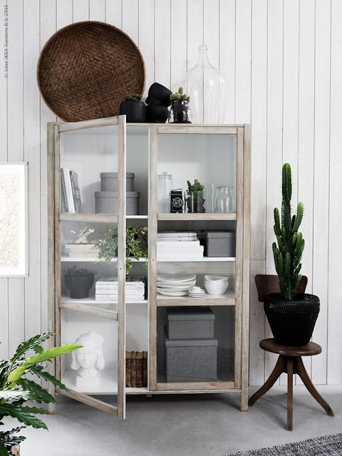 image result for ikea hack with cabinet made to look vintage
