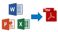 Come convertire file DOC, XLS e PPT in PDF