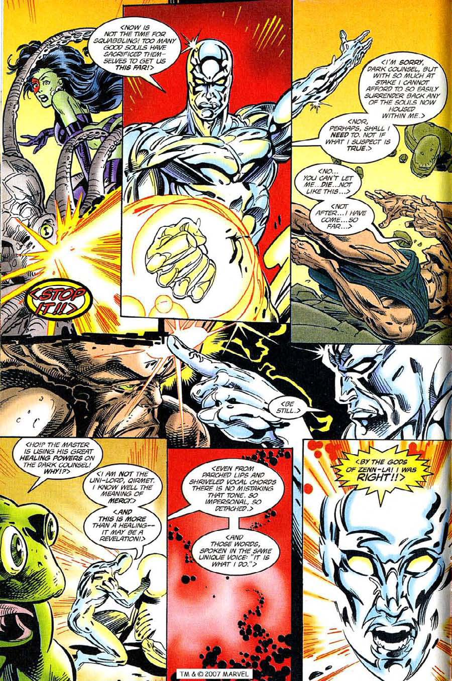 Read online Silver Surfer (1987) comic -  Issue #119 - 8