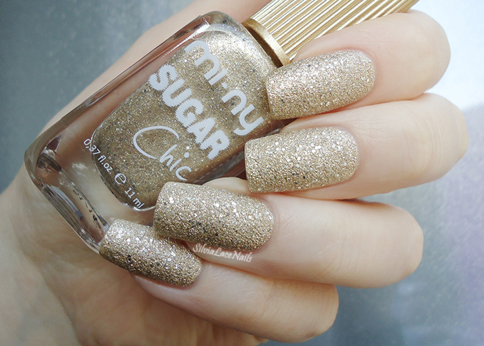 MI-NY Sugar Chic Gold Caramel: swatches and review