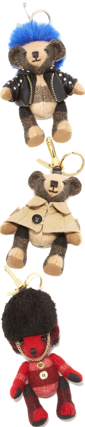 Burberry Thomas Teddy Bear Purse Charm