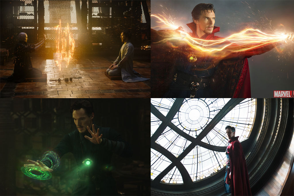 Doctor Strange mystical powers