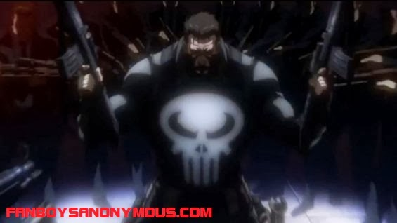Frank Castle the Punisher voiced by actor Brian Bloom in new Marvel animated movie