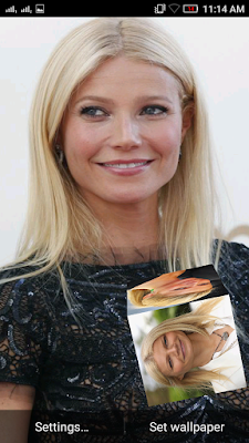 Gwyneth Paltrow 3D live Wallpaper For Android Mobile Phone