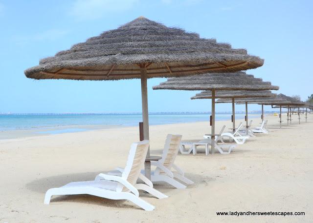 Danat Jebel Dhanna private beach