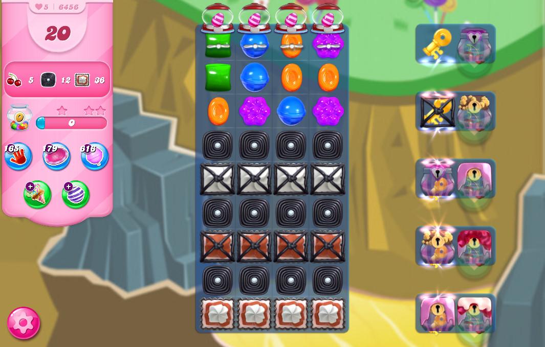 Candy Crush Saga level 6456