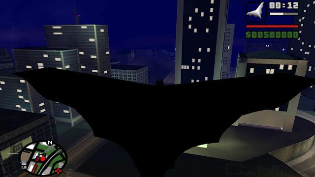 GTA SA Batman Mod تحميل و شرح تركيب مود باتمان في لعبة جاتا سان تحميل مود باتمان كااامل بالسيارة والدراجة والطيران وكل شئ Batman Full Mod 2018