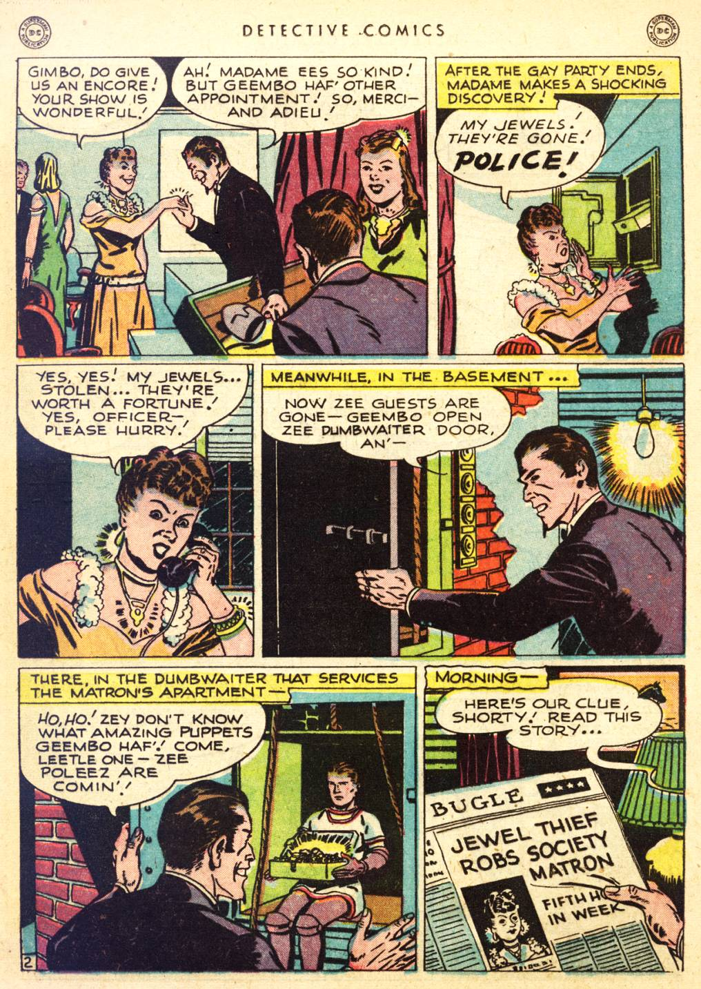 Read online Detective Comics (1937) comic -  Issue #126 - 17