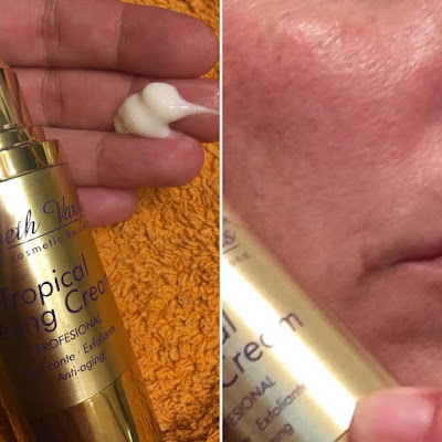 Tropical peeling cream, peeling,Elisabeth vargas cosmetic, alta cosmética, cosmética profesional, tratamiento regenerador antiaging, tratamiento regenerador antiedad, tratamiento regenerador,