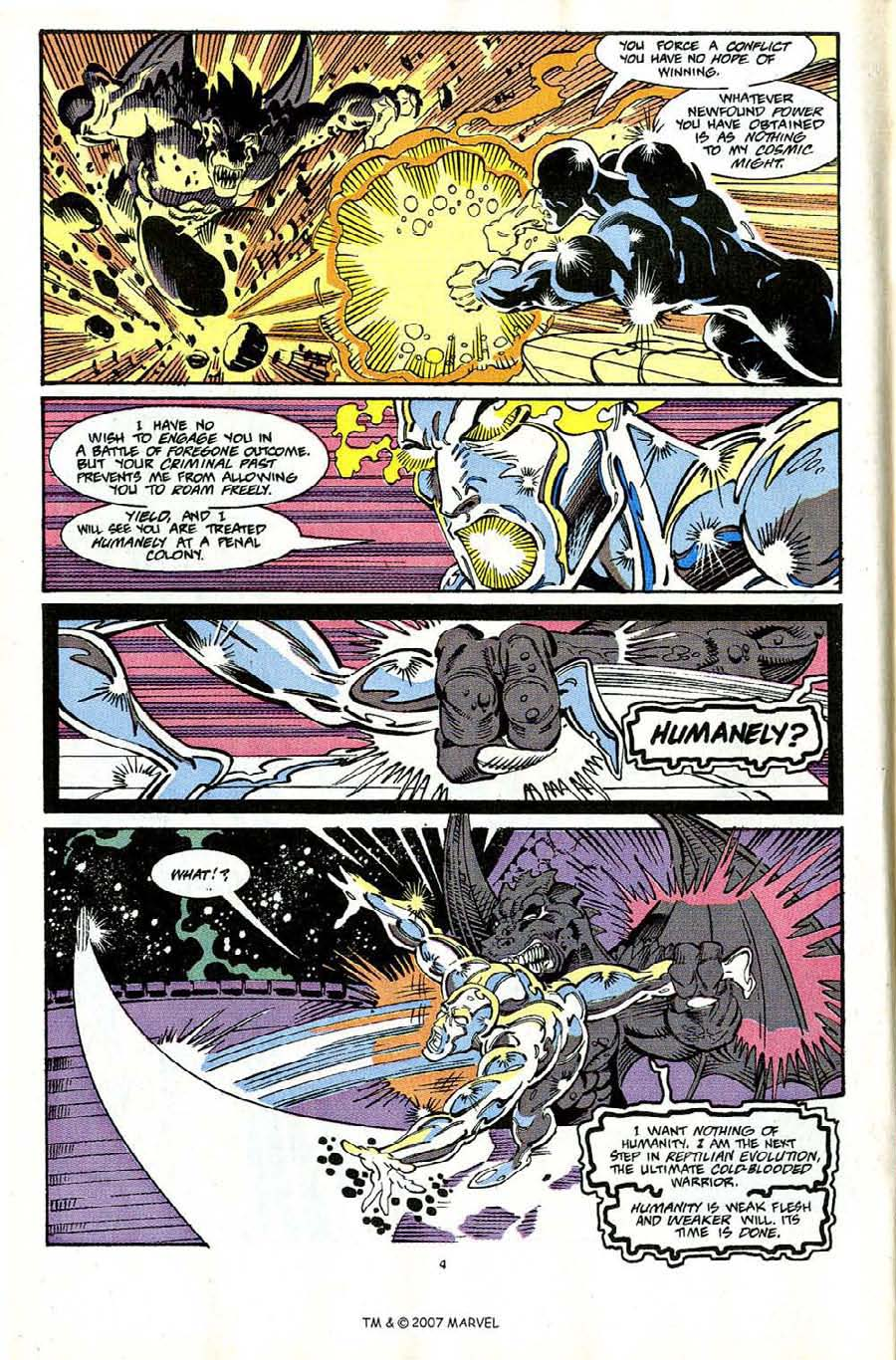 Read online Silver Surfer (1987) comic -  Issue #65 - 6