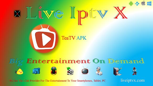 TeaTV v5.2r Ad-Free Apk