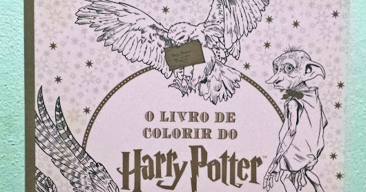 O livro de colorir do Harry Potter