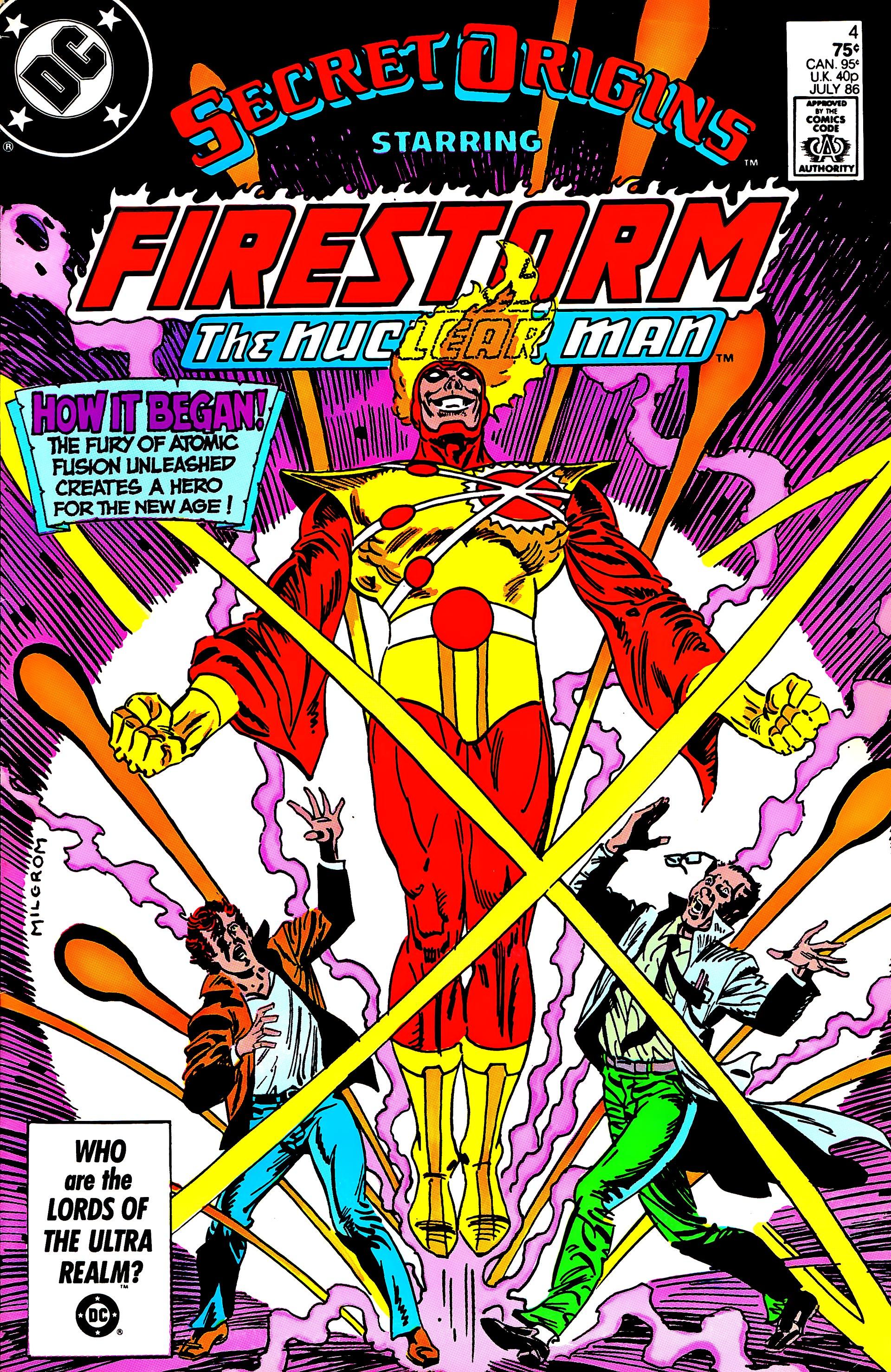 Read online Secret Origins (1986) comic -  Issue #4 - 1