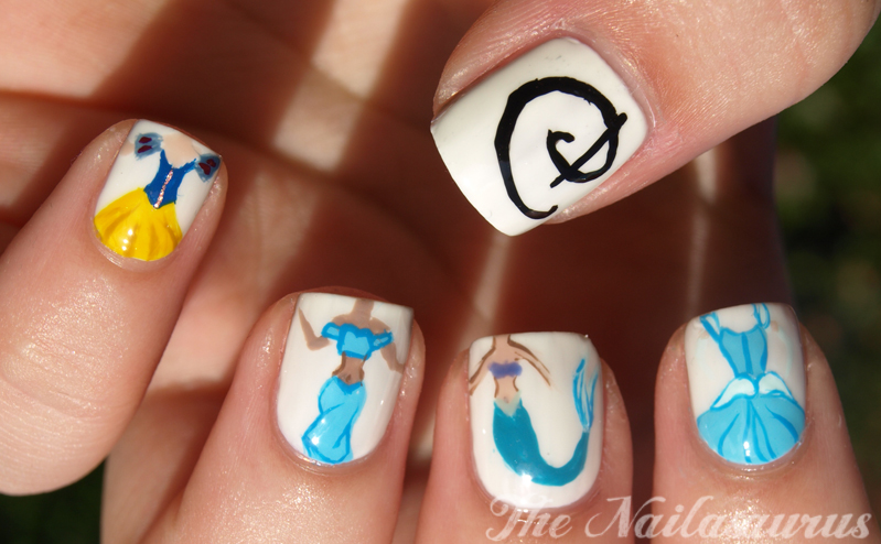 Once Upon A Time (Disney Princess Nail Art) - The ...