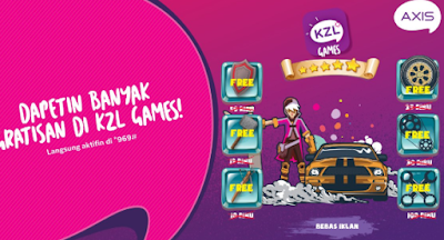 Cara Setting Anonytun Kuota Axis KZL Games Terbaru 2018