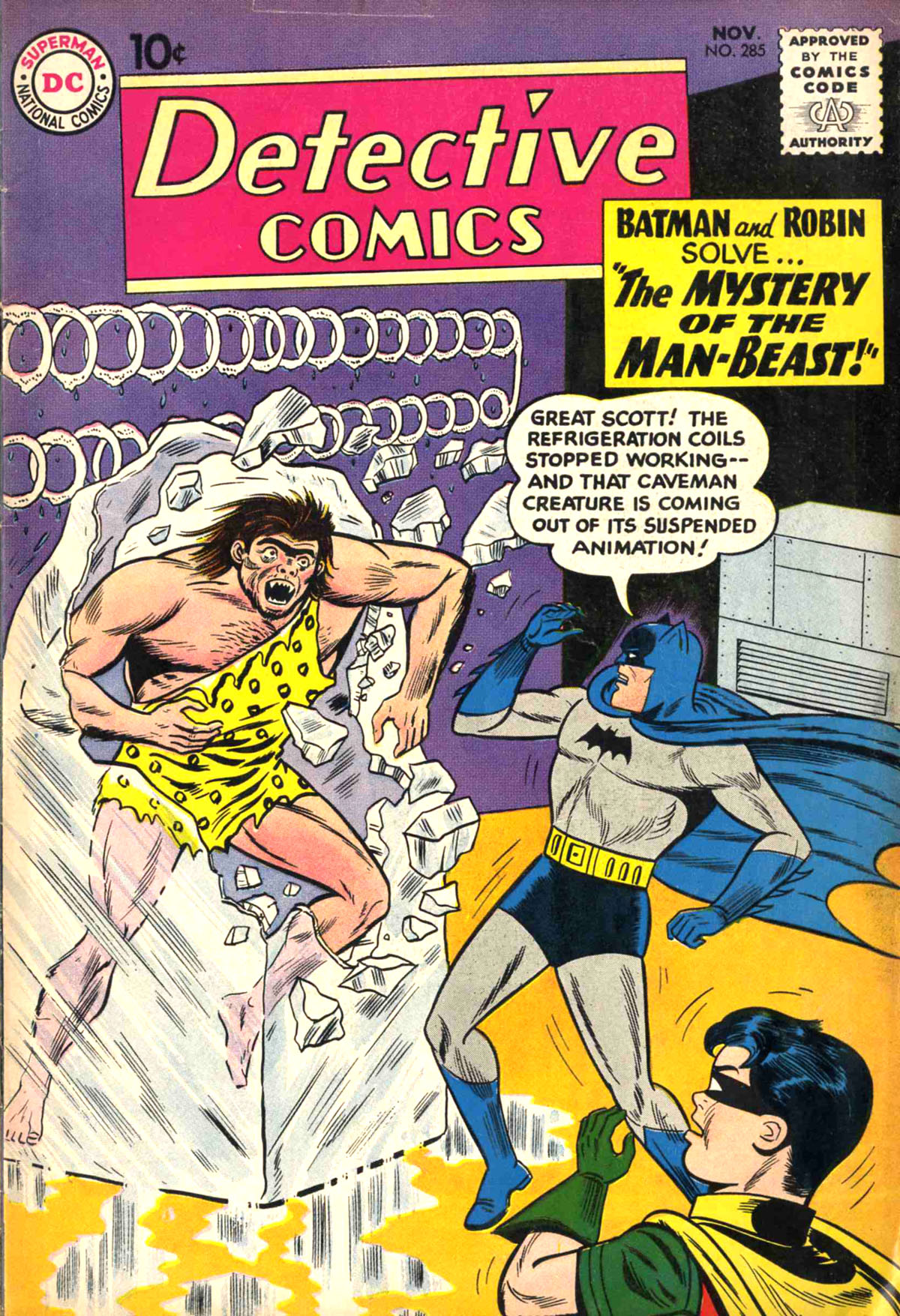 Detective Comics (1937) 285 Page 1