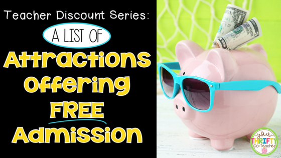 Florida Teacher Discounts >> Teacher Discount Free Admission To Attractions Your