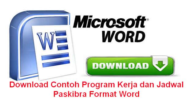 Download Contoh Program Kerja dan Jadwal Paskibra Format Word