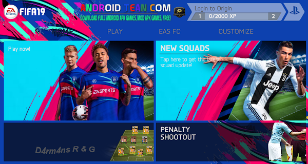 FIFA 14 Mod FIFA 19 Android PS4 Camera Offline for Android