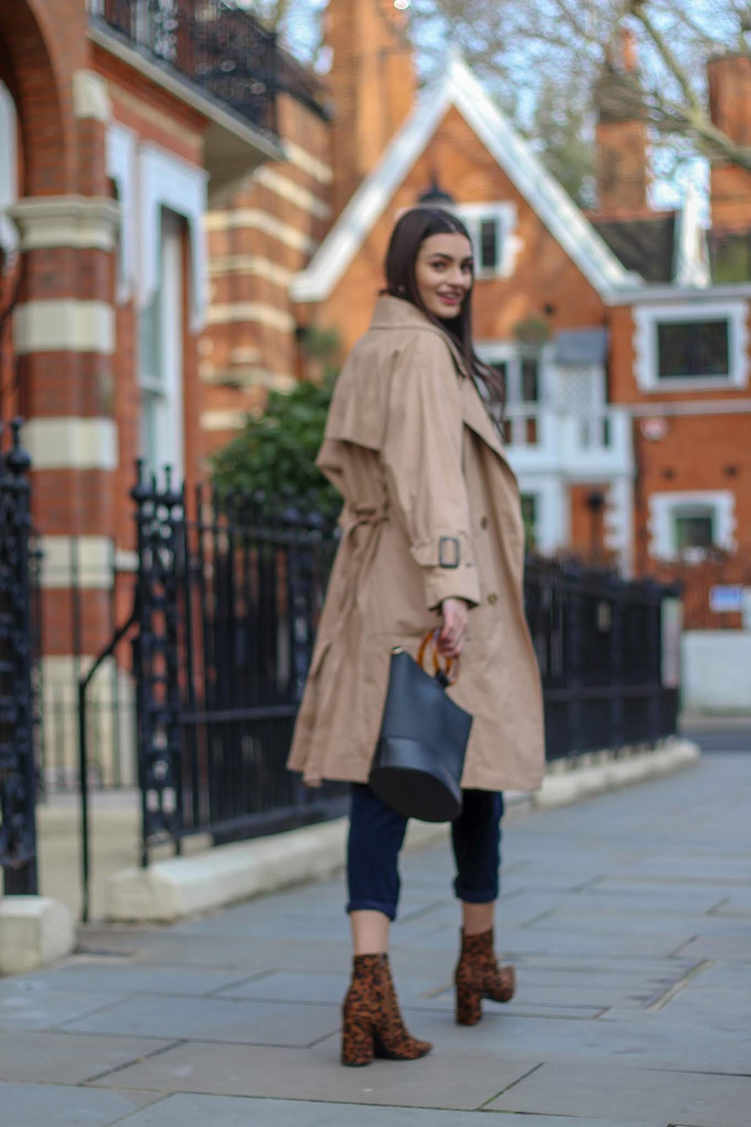 trench coat transitional style
