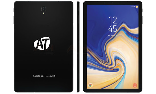 Samsung Galaxy Tab S4 leaked with slim bezels, no physical home button