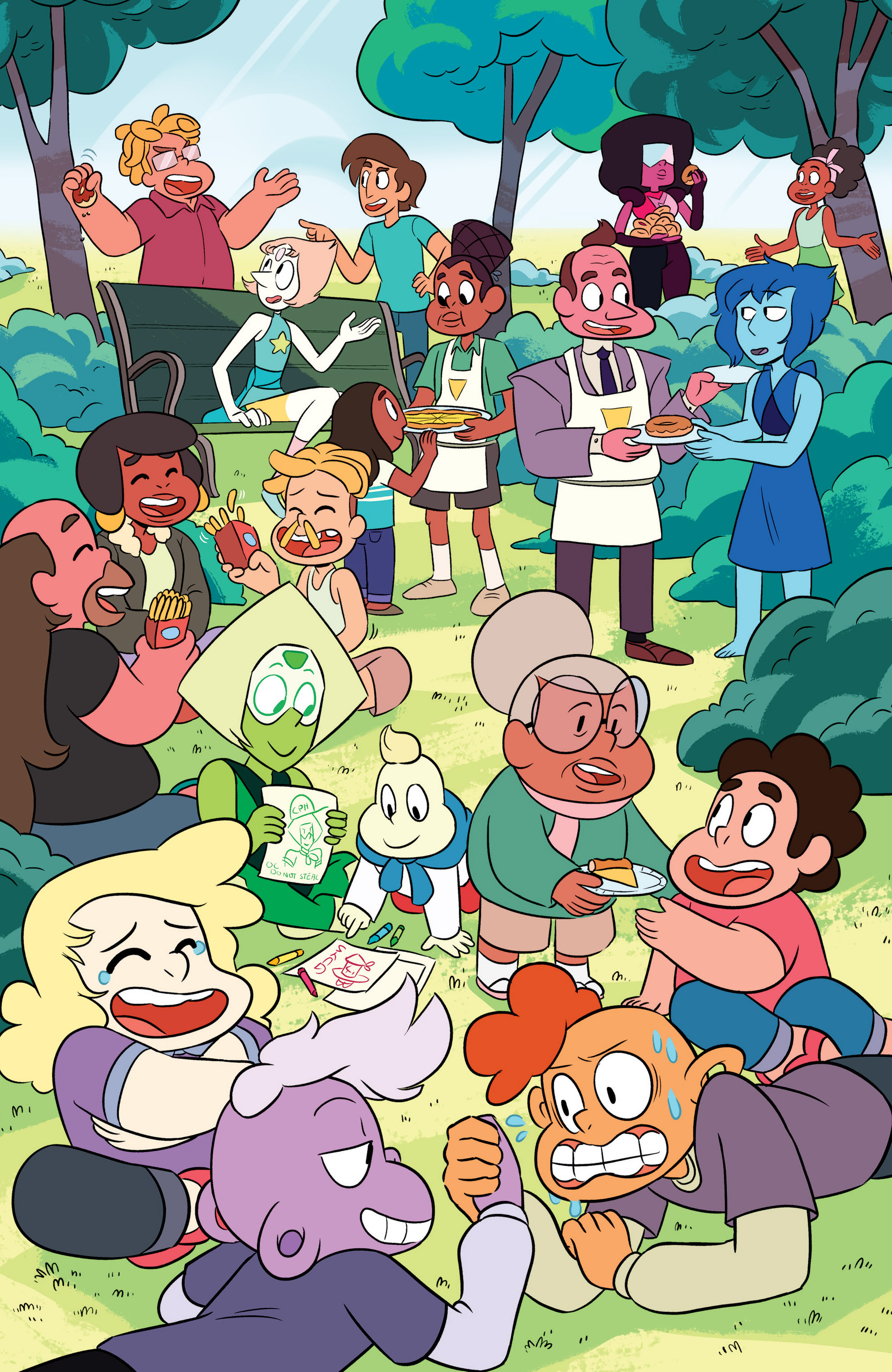 Read online Steven Universe Ongoing comic -  Issue #3 - 21