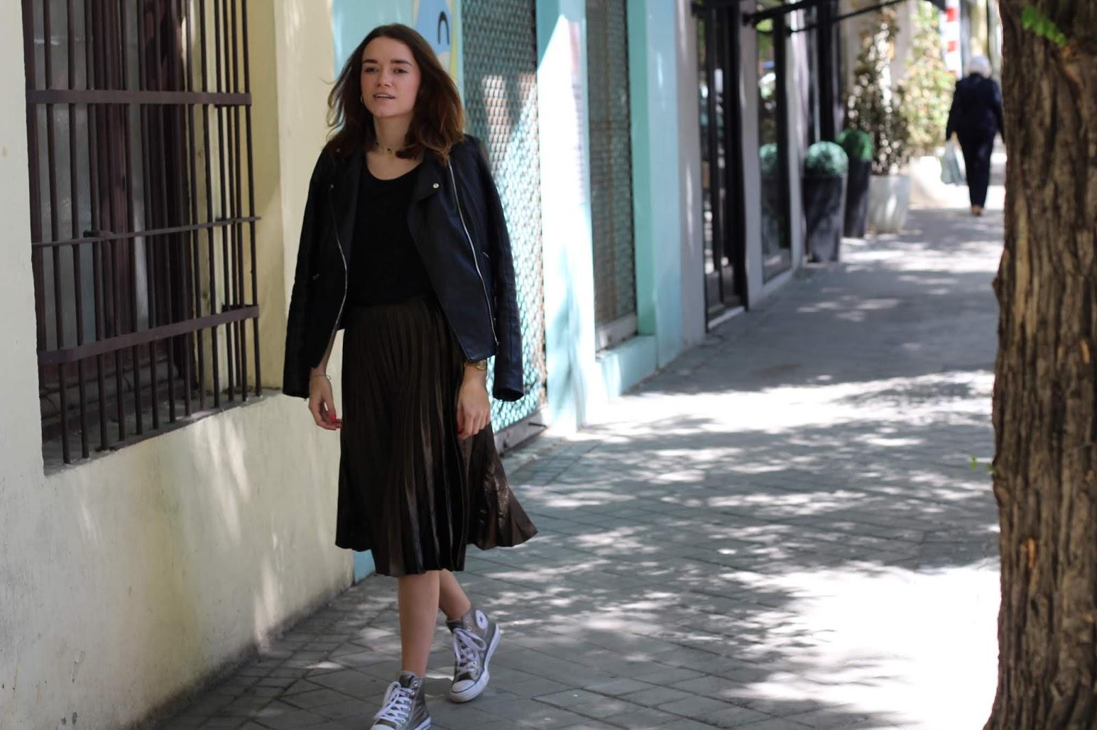 jupe kaki mode