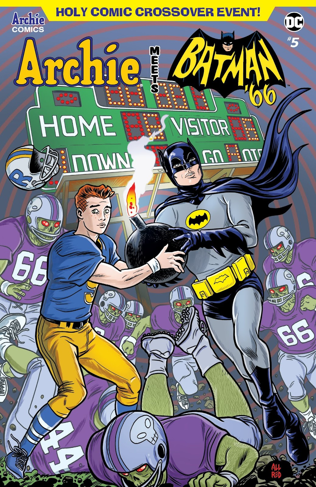 Read online Archie Meets Batman '66 comic -  Issue #5 - 1